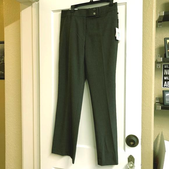 da25f9e163dd5 Calvin Klein Curvy Fit Trouser Leg Dress Pants NWT